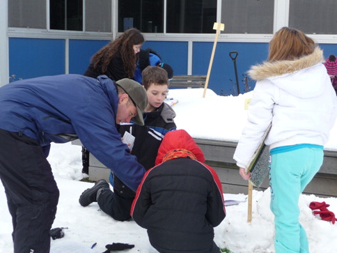 Hands on Science in Snow