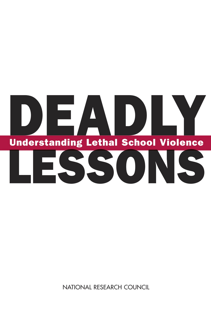 Deadly Lessons report cover