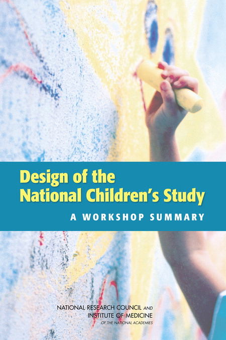 National Children's Study report cover