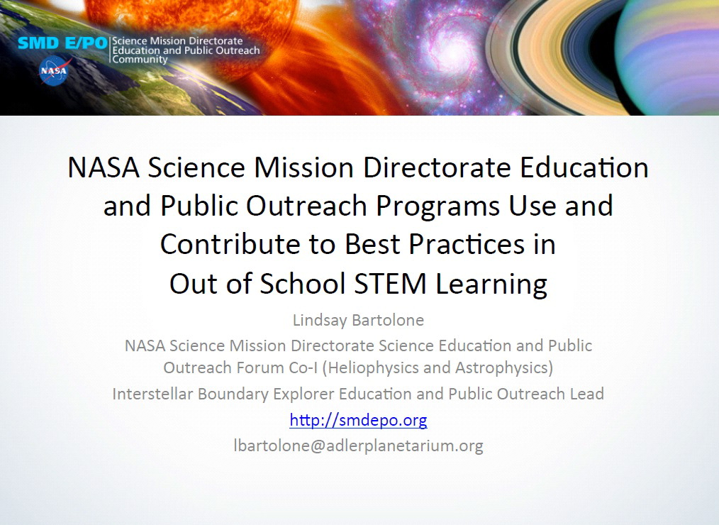 OST STEM WK_Poster_NASA