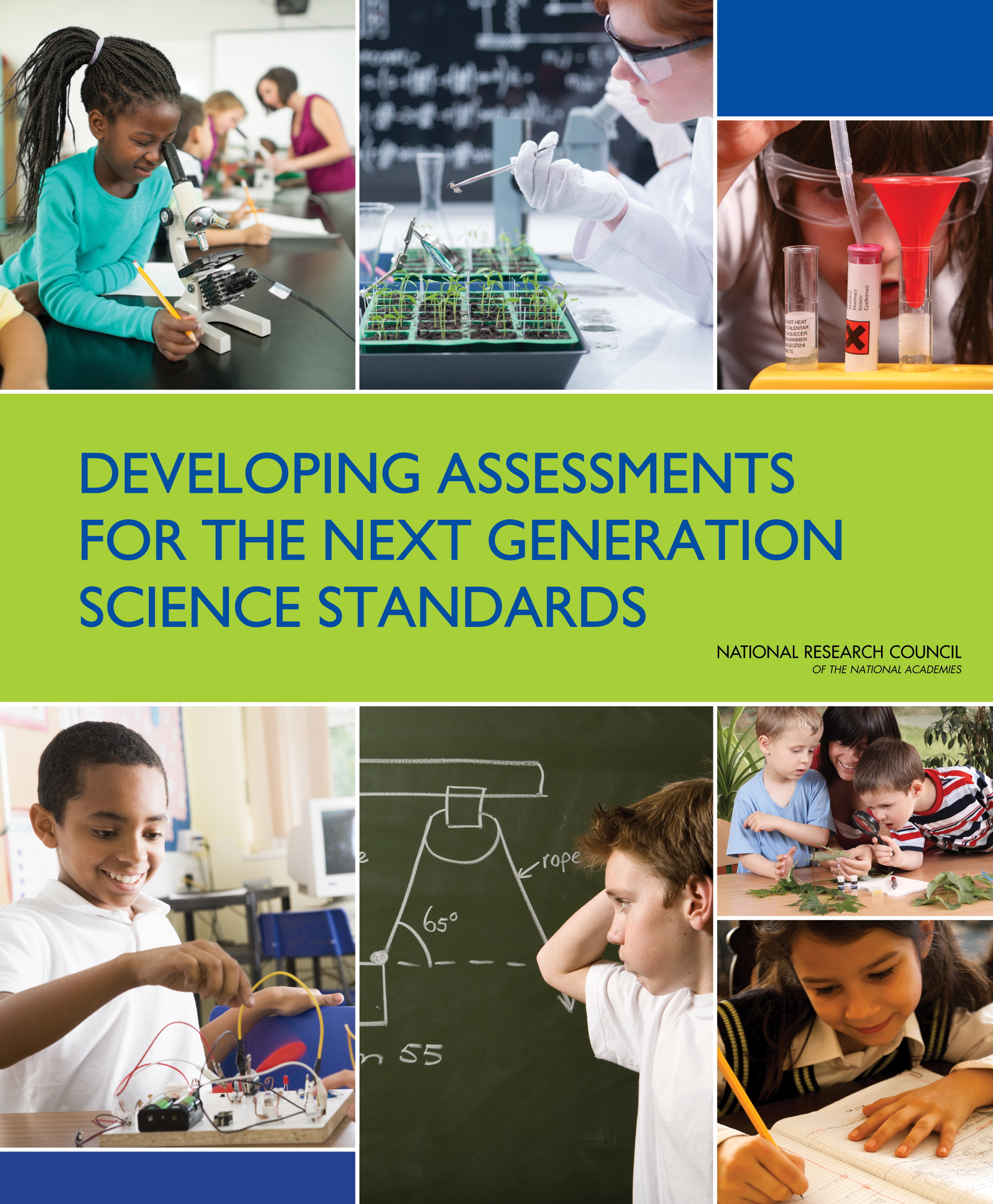 Science Assessment Cover