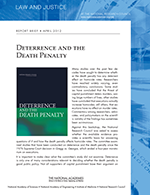Death Penalty report brief cover