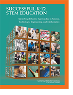 Successful STEM Education coverL
