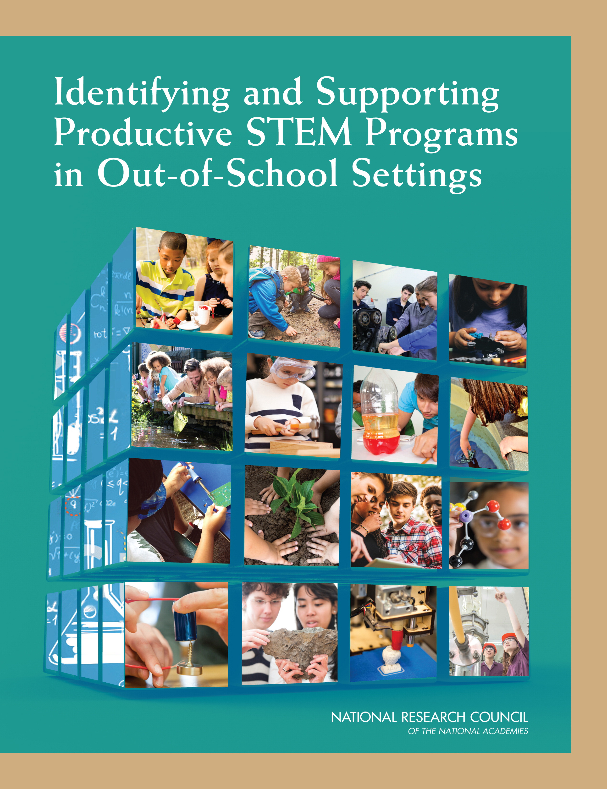 Out of School STEM report cover