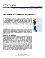 Immigrant Integration Report Brief cover