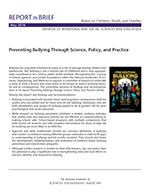 Bullying Report Brief cover