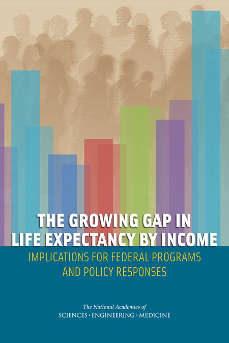 Growing Gap in Life Expectancy Report Cover