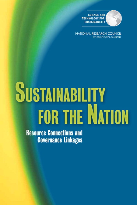 Sustainability for the Nation Report Cover