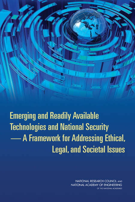 Emerging and Readily Available Technologies and National Security Report Cover