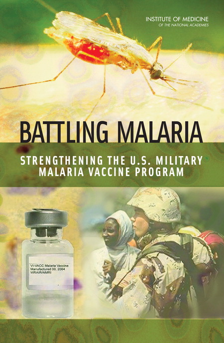 Battling Malaria Report Cover