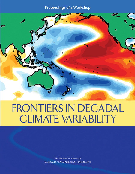 Frontiers in Decadal Climate Variability Report Cover
