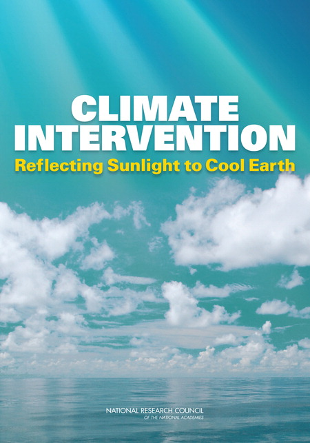 Climate Intervention Report Cover