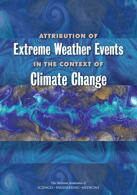 Attribution of Extreme Weather Events Report Cover