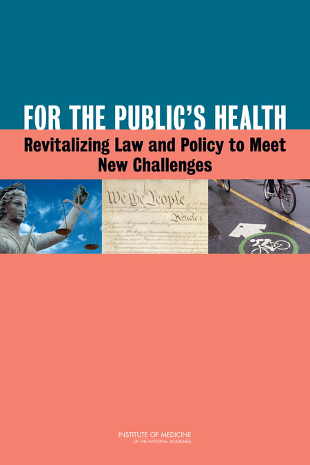 For the Public's Health Report Cover