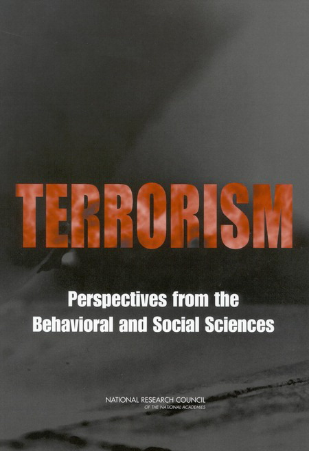 Terrorism Perspectives from the Behavioral and Social Sciences Report Cover