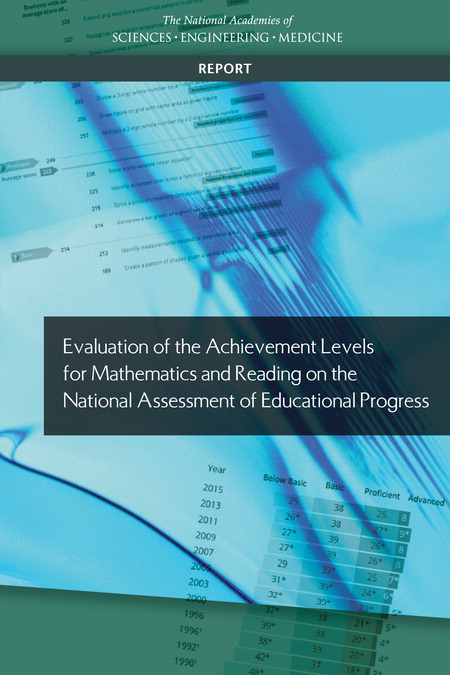 Evaluation of Achievement Levels NAEP Cover