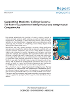 Assessment of Competencies Highlights