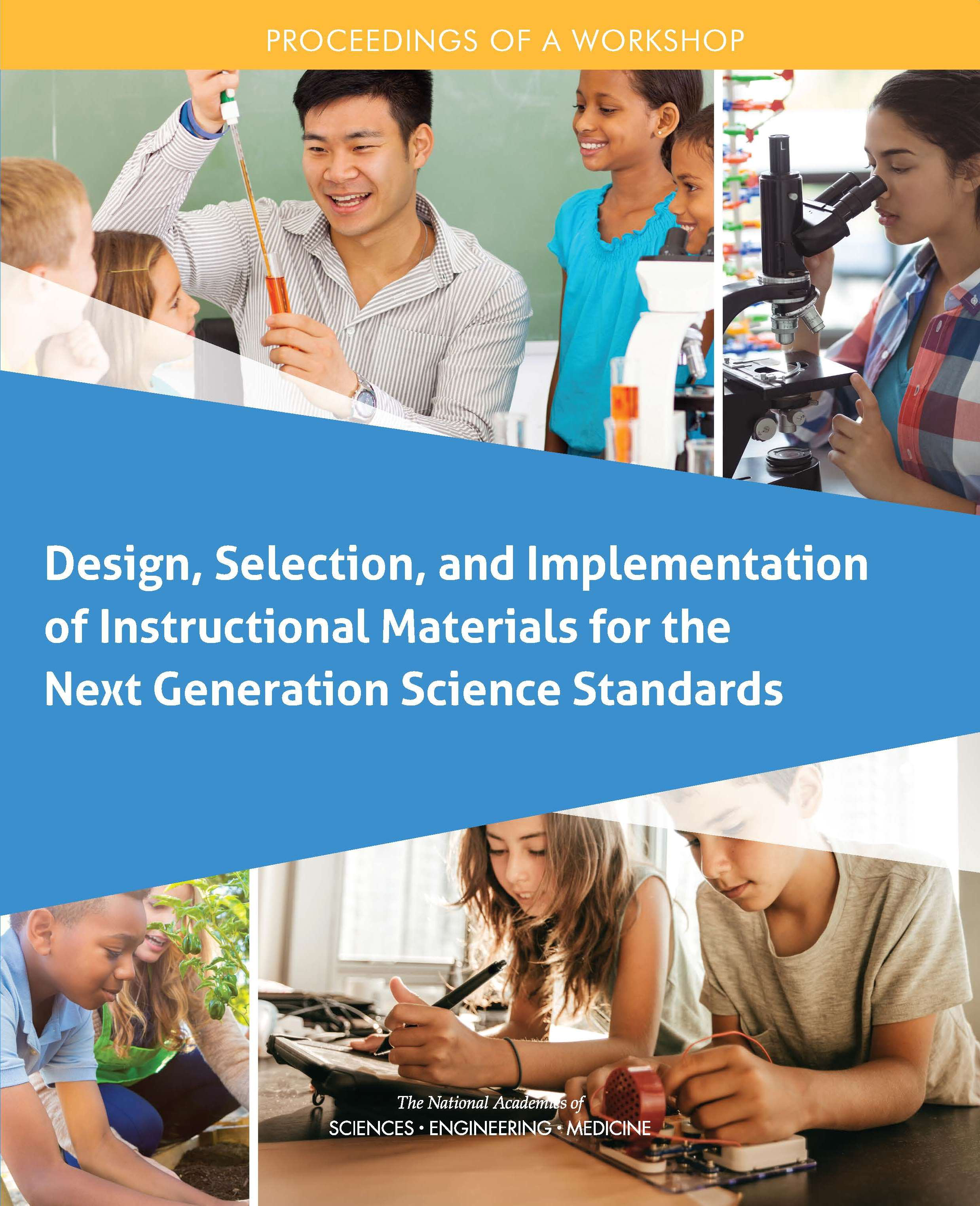 Design Selection Instructional Materials NGSS