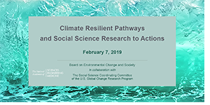 Seminar Climate Resilient Pathways