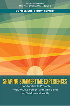 Shaping Summertime Experiences report cover