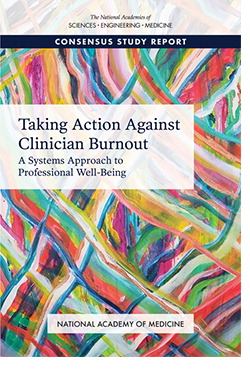 Cover Clinician Burnout