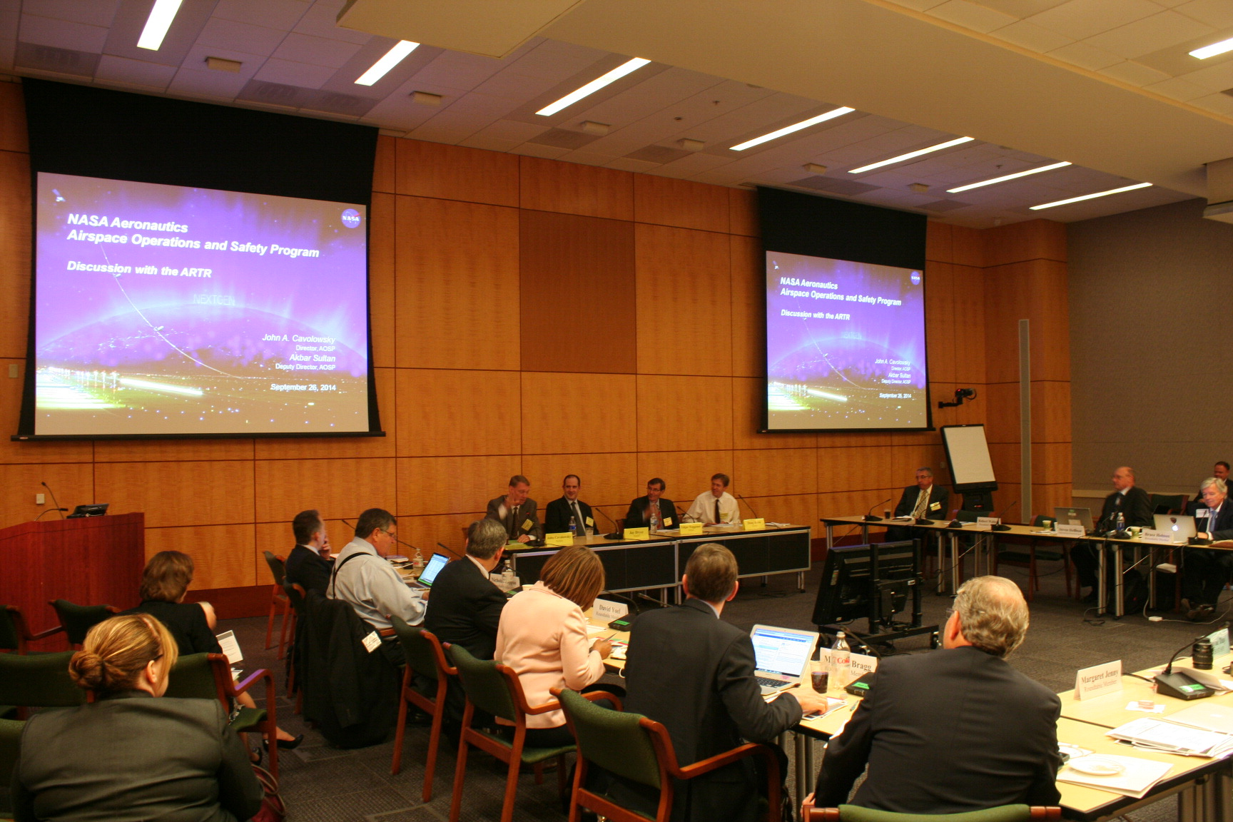 Round Table Tracy Aeronautics Research And Technology Roundtable Artr