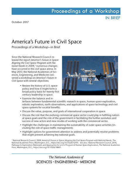 americas future civil space