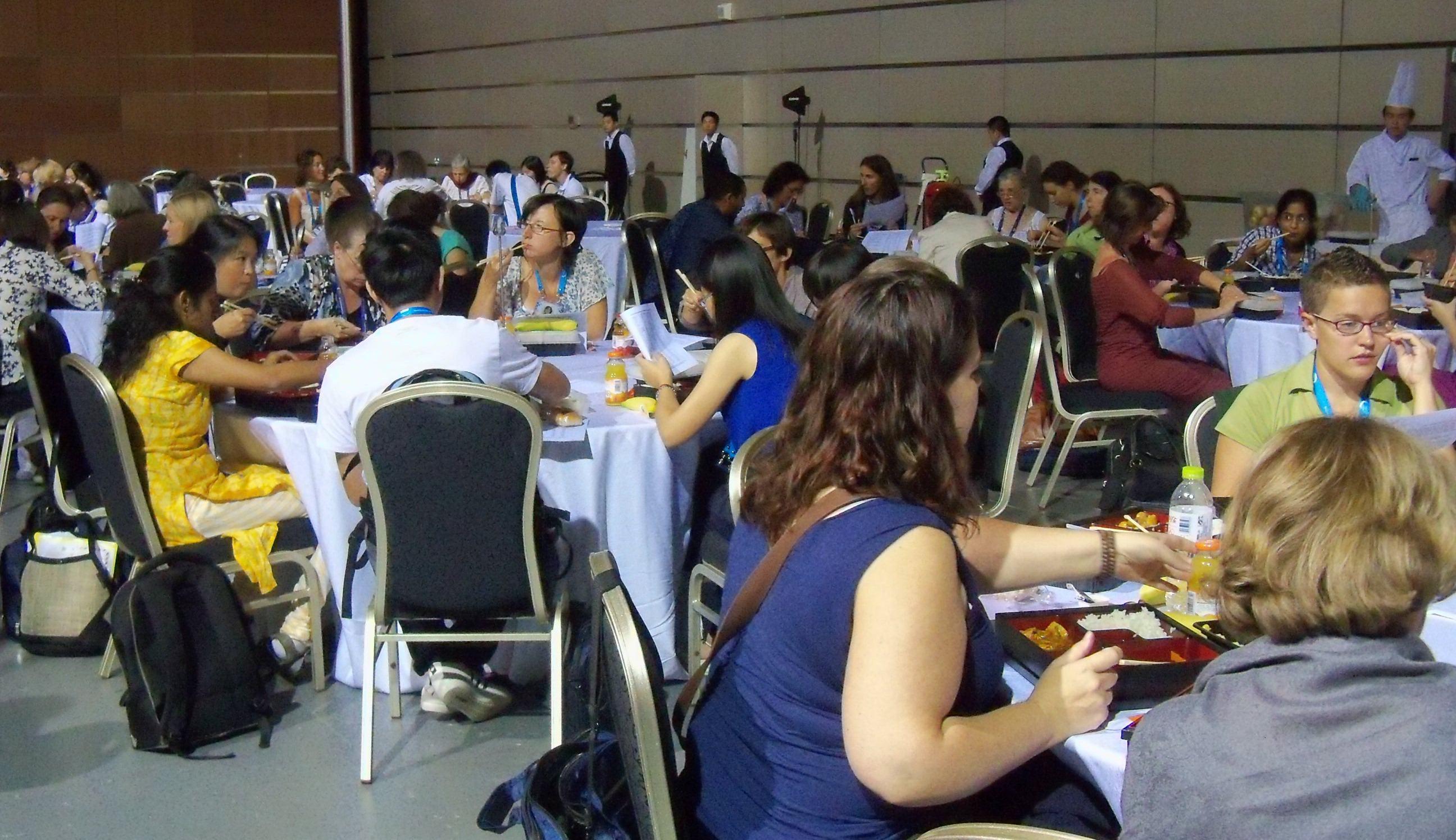 Women's lunch IAU2012