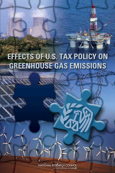 Effects of US Tax Policy on GHG Emissions