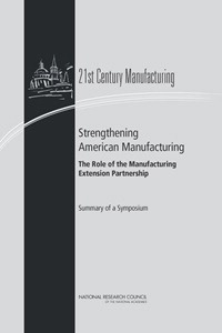 Strengthening American Manufacturing