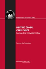 Meeting Global Challenges: U.S.-German Innovation Policy