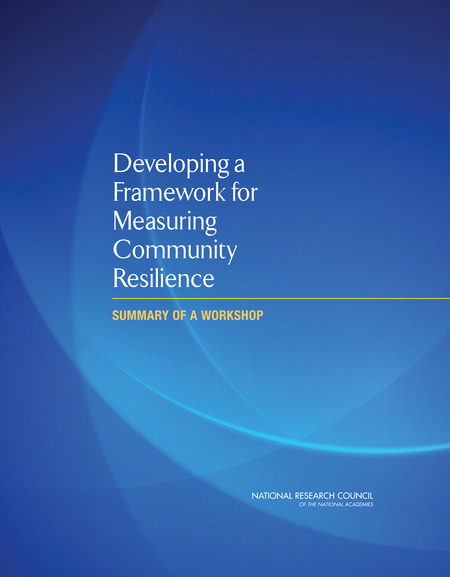 Developing a Framework for Measuring Community Resilience: Summary of a Workshop