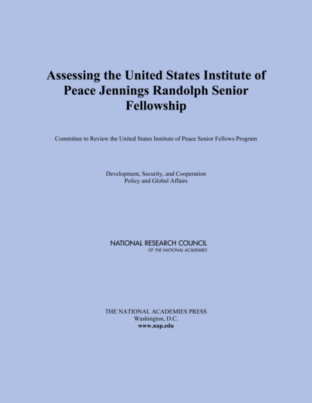 Report Cover: Assessing the US