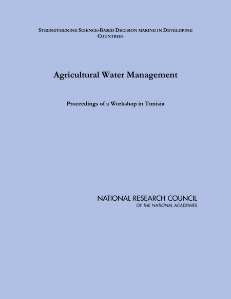 Report Cover: Agricultural Water Management