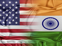 US/India Flags