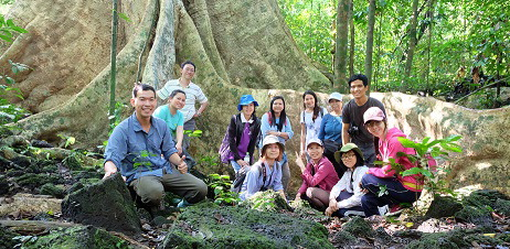 2-93 Project Team in Cat Tien Park