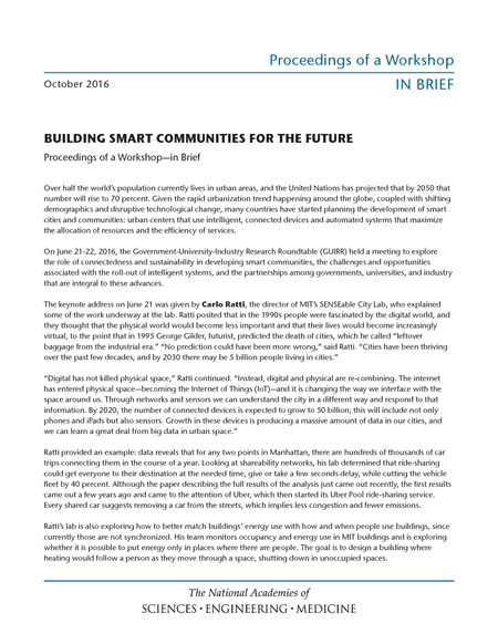 Building Smart Communities Cover
