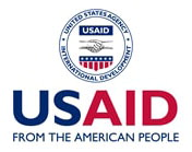 Vertical USAID logo