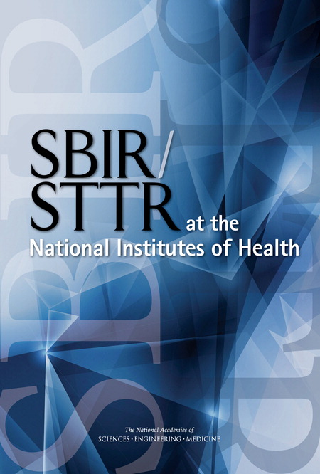 SBIR at NIH cover - fine