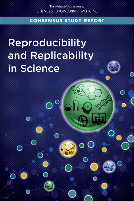 Reproducibility report cover image