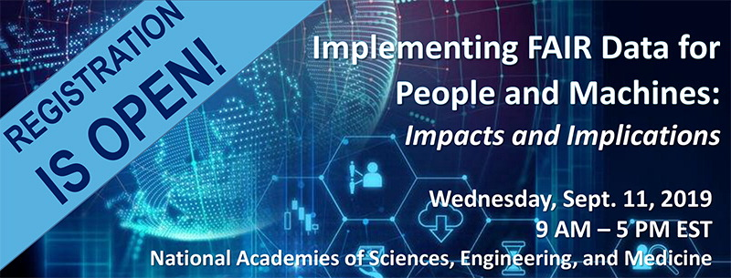 Implementing FAIR Data for People and Machines: Impacts and Implications