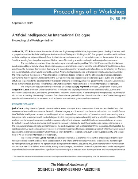 AI Intl Dialogue Proceedings
