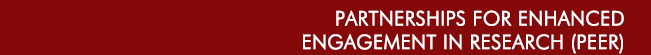 Partnerships for Enhanced Engagement in Research