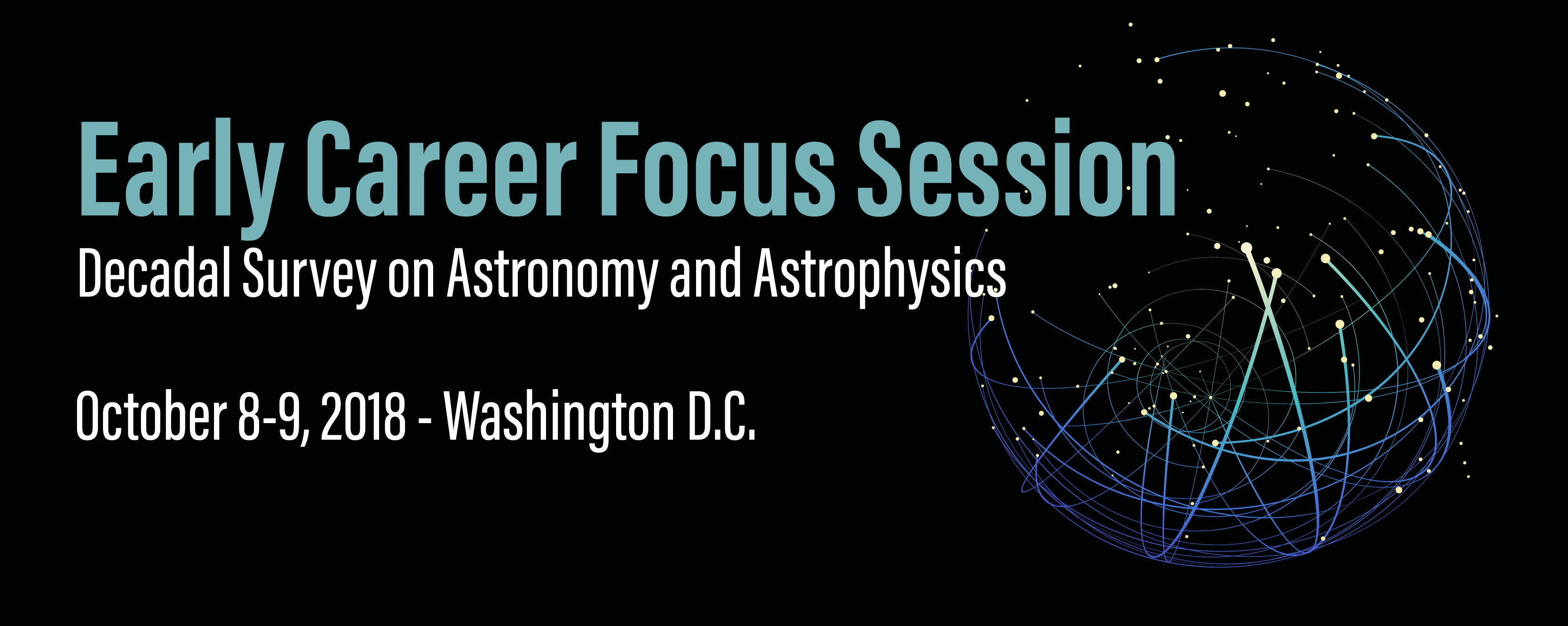 2018 early career astronomer event banner